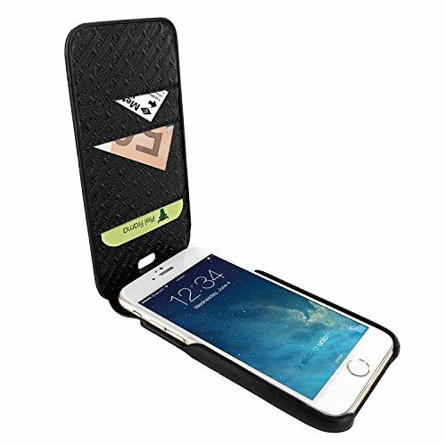 Piel Frama 760 Black Lizard iMagnumCards Leather Case for Apple iPhone 7 / 8 by Piel Frama