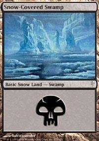Magic: the Gathering - Snow-Covered Swamp - Coldsnap - ()