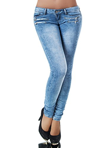 Jeans Diva Jeans Donna Chiaro Blu skinny Basic BR6xwqZ