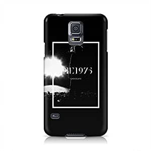The 1975 Chocolate Hard Plastic Snap-On Case For Samsung Galaxy S5
