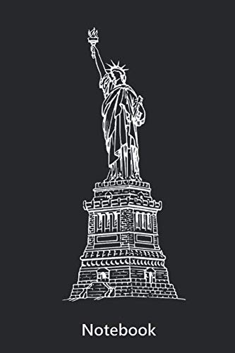 Notebook: Statue of Liberty | America | New York (6x9 inch | lined paper | 100 pages) (German Edition)