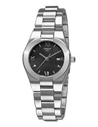 Tissot Glam Sport Date Bracelet Black Dial Women's Watch #T043.210.11.058.00