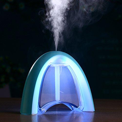 Humidifier Usb Rainbow Car Home Perfume Atomizer Air Purifier Colorful LED Umidificador Mist Maker
