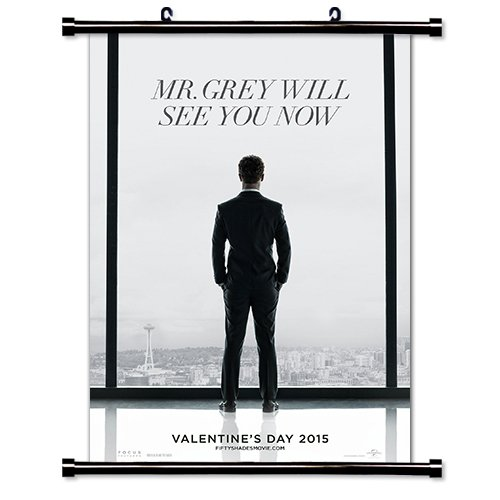 Fifty Shades of Grey Movie Fabric Wall Scroll Poster (16