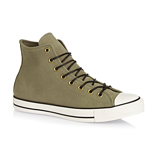 Converse Chuck Taylor all Star Mono Leather Hi, Sneaker Unisex-Adulto Jute Egret Black