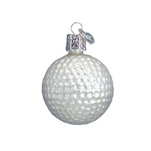 Old World Christmas Golf Ball Glass Blown Ornament