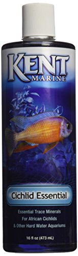 Kent Marine AKMATE16 African Cichlid Trace Elements for Aquarium, 16-Ounce