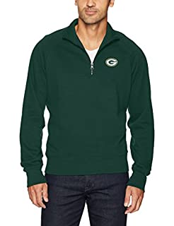 OTS NFL Green Bay Packers Men's Fleece 1/4-Zip Pullover, Logo, X-Large (B073XH158K) | Amazon price tracker / tracking, Amazon price history charts, Amazon price watches, Amazon price drop alerts