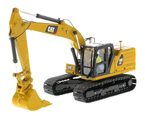 Diecast Masters CAT Caterpillar 323 Hydraulic Excavator with Operator Next Generation Design High Line Series 1/50 Diecast Model