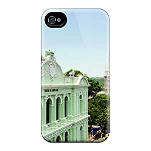 Pretty YtdXZAr5232aVSuj Iphone 4/4s Case Cover/ Santa Ana Gothic Cathedral Series High Quality Case