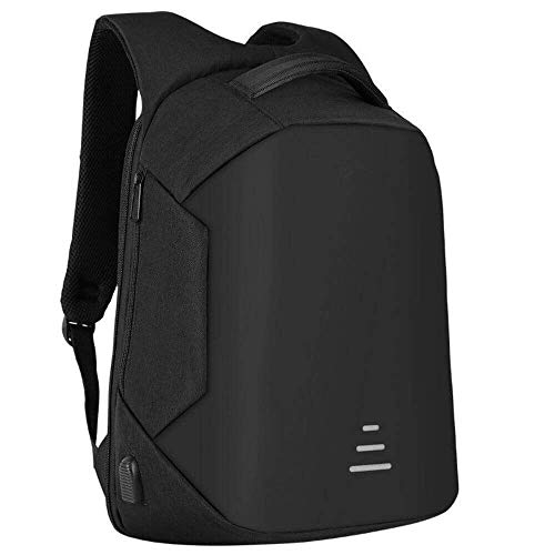 Anti-Theft, Waterproof Casual Backpack with USB Charging Point – Fashion Bagpack for 16 inch Laptop, for Travel Office Men Women, 30 Ltrs -Black