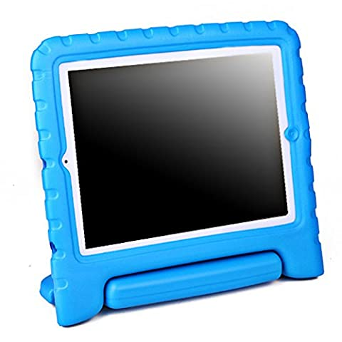 HDE Shock Proof iPad Case for Kids Bumper Cover Handle Stand for Apple iPad 2 iPad 3 iPad 4 (Blue) - Cases and Covers