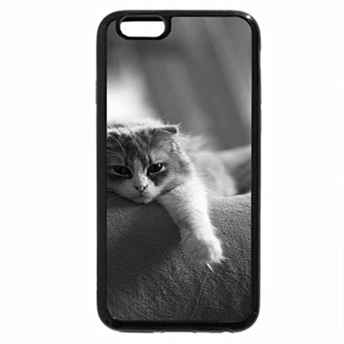 iPhone 6S Plus Case, iPhone 6 Plus Case (Black & White) - Yeah...nice and comfortable
