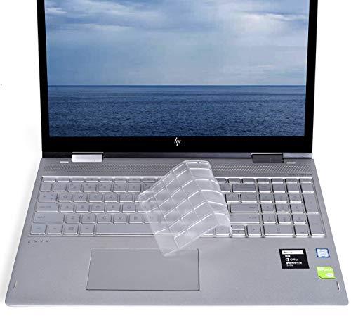 Ultra Thin High-Grade TPU Clear Keyboard Cover for 2019 2018 HP Envy x360 15.6