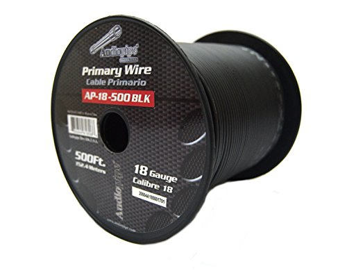 Invisible Dog Fence Wire 18 Gauge 500 FEET BLACK In-Ground Fence Burial Boundary