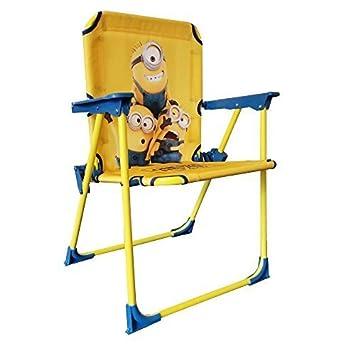 Despicable Me Minions Childrenu0027s Fold Up Deck Chair  sc 1 st  Amazon UK & Despicable Me Minions Childrenu0027s Fold Up Deck Chair: Amazon.co.uk ...