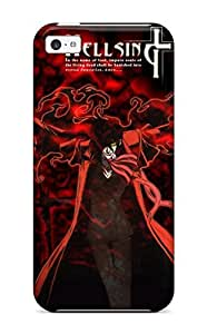 Cute Appearance Cover/tpu DIAZGfv6056lVErs Hellsing Gunslinger Case For Iphone 5c by lolosakes