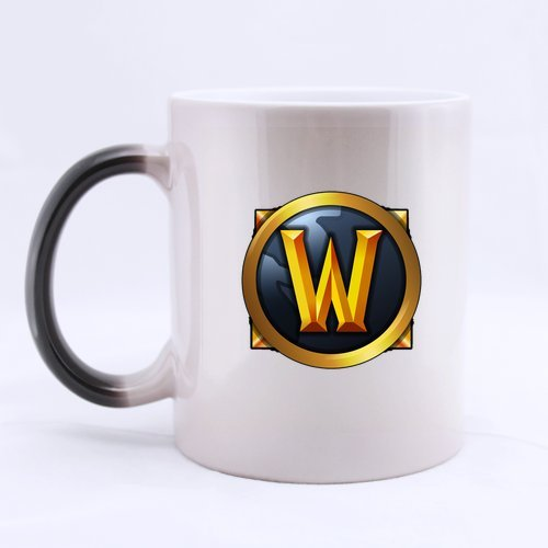 Mug for U world of warcraft logo Custom Morphing Mug coffee