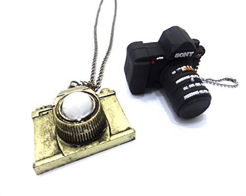 Price comparison product image GSC Moda Camera USB Flash Drive Pen Drive 8GB USB Memory Photo Camera Necklace