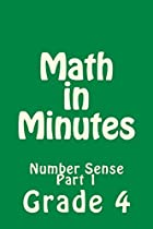 MATH IN MINUTES FOR GRADE 4: NUMBER SENSE FOR 4TH GRADERS