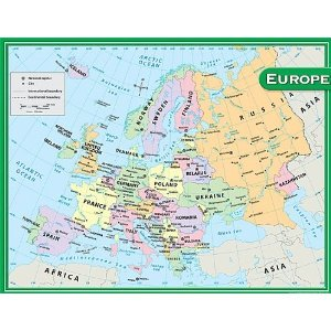 Teacher created resources europe map chart multi color 7654 buy teacher created resources europe map chart multi color 7654 buy online in uae office product products in the uae see prices reviews and free gumiabroncs Image collections
