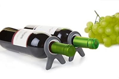 Quirky Vine Wine Bottle Stabilizer and Storage Stand (Set of 2)