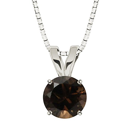 Smoky Quartz Pendant - 7