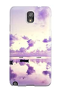 Joe A. Esquivel's Shop Purple Sunset In Ocean Case Compatible With Galaxy Note 3/ Hot Protection Case 9333106K35184062