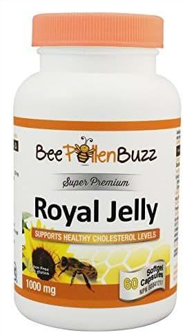 Bee Buzz Royal Jelly 1000 Mg 60 Caps