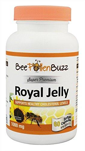 Bee Buzz Royal Jelly 1000 Mg 60 - 60 Pollen Caps Bee