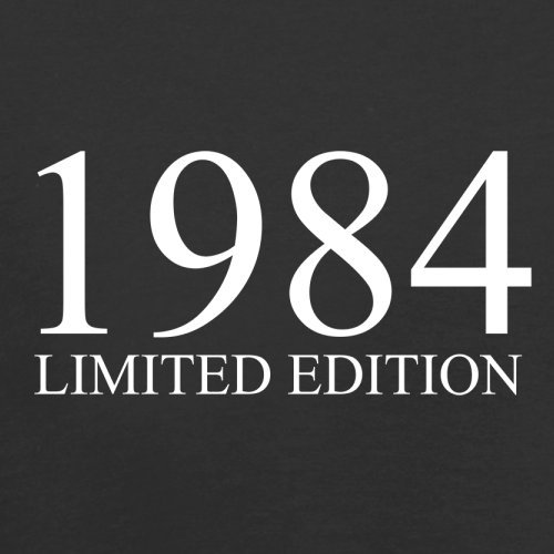 1984 Limierte Auflage / Limited Edition - 33. Geburtstag - Herren T-Shirt - Schwarz - XS
