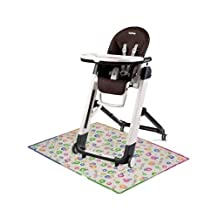 Peg Perego Siesta High Chair with Splat Matt - Cacao by Peg Perego