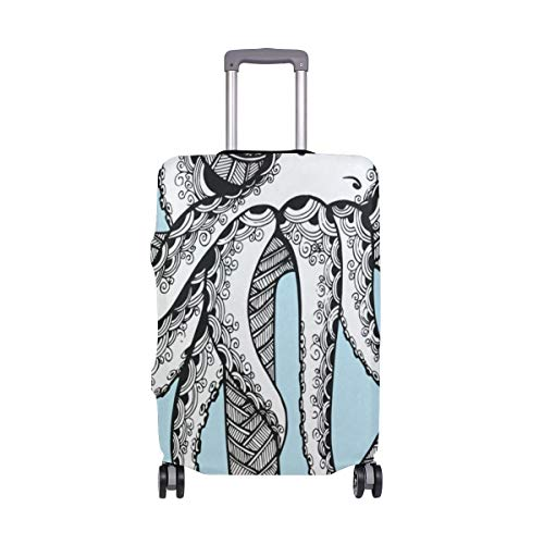 Luggage Cover Anchor Octopus Travel Case Suitcase Bag Protector 3D Print Design