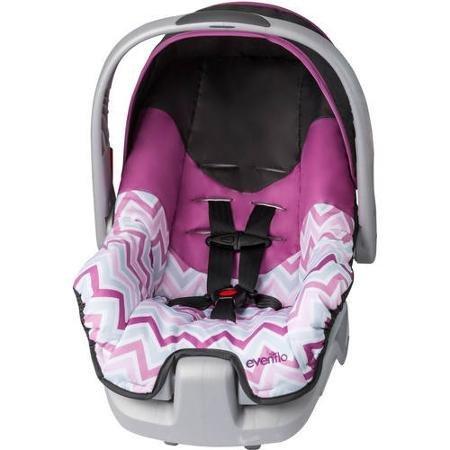 (Evenflo Nurture Infant Car Seat, Britnay)