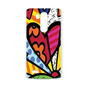 Canting_Good Romero Britto colorful art Custom Case Shell Skin for LG G3 (Laser Technology)