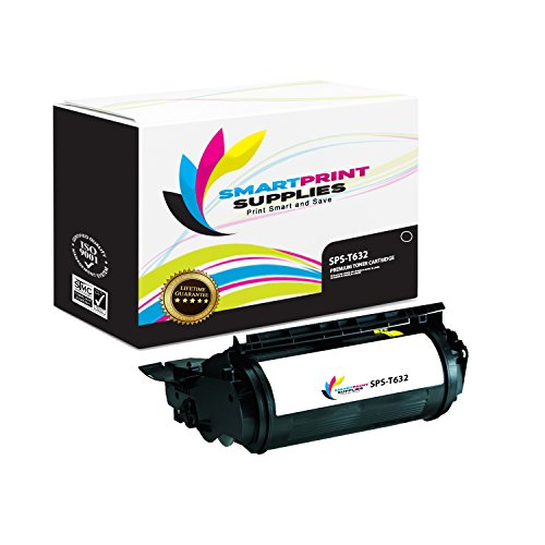 Smart Print Supplies Compatible 12A7365 Black High Yield Toner Cartridge Replacement for Lexmark Optra T630 T632 T634 Printers (32,000 Pages)