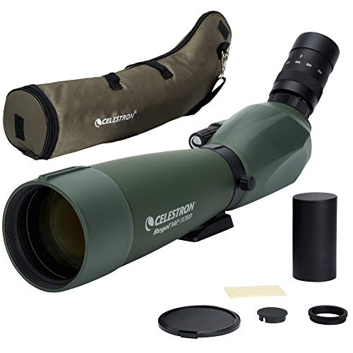 Celestron Regal M2 80ED Spotting Scope - Fully Multi-Coated Optics - Hunting Gear - ED Objective Lens for Bird Watching, Hunting and Digiscoping - Dual Focus - 20-60x Zoom Eyepiece