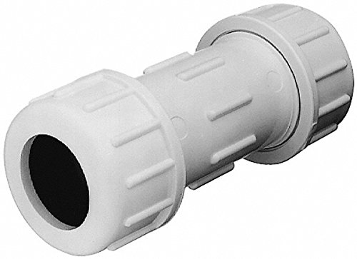 Legend Valve 204-109 2-1/2 Inch Pipe, PVC Compression Pipe Coupling