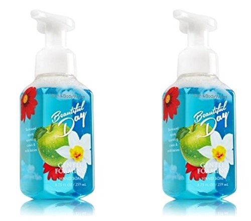 Bath & Body Works Gentle Foaming Hand Soap Beautiful Day (2 Pack) ()