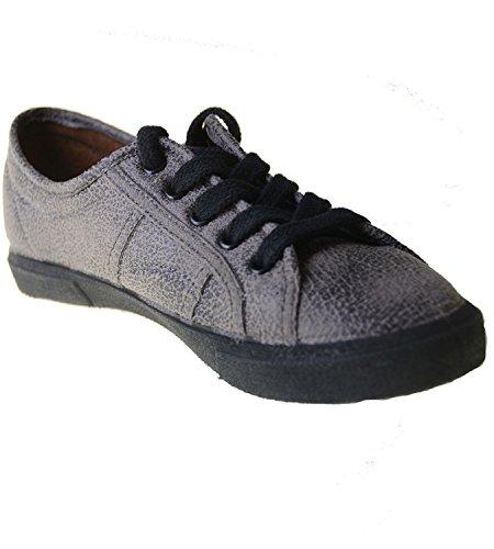 Grigie Vegan Calzature Sneaker Jonny Di gris x685t