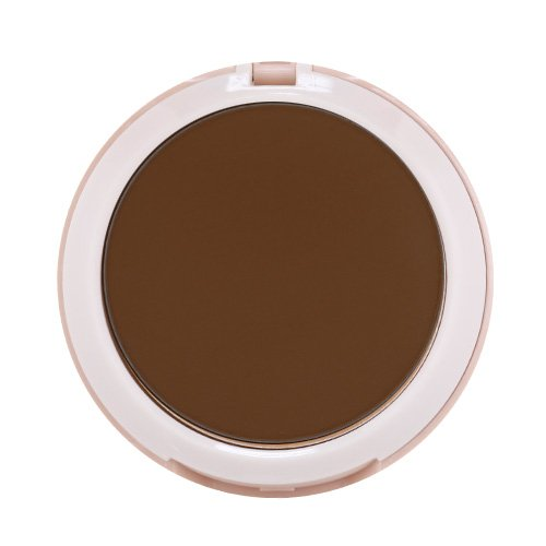 Ruby Kisses Never Touch Up Matte Finish Powder Foundation 0.35oz - Ebony