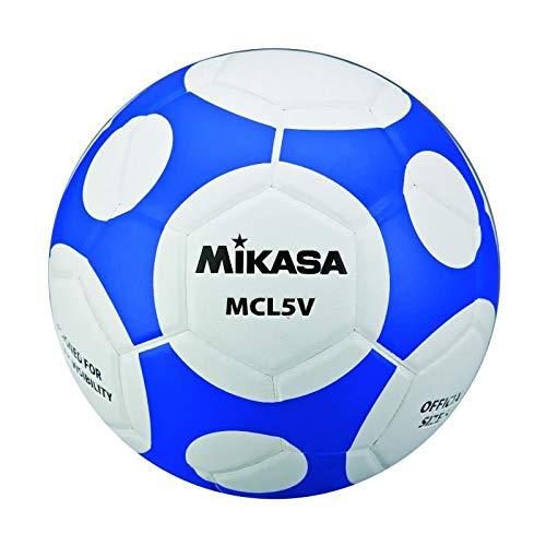 MIKASA Mcl5V-Wb - Balón de fútbol Unisex para Adulto, Color Blanco ...