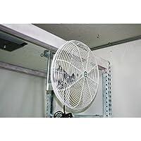 J & D MFG. EZ Breeze Basket Fan - 16in. Dia., 2300 CFM, Model# VDB16G