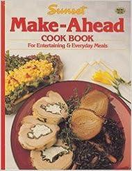 Book Sunset Make-Ahead Cook Book