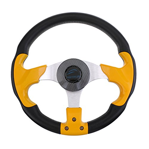 Used, SM SunniMix Fashion Deluxe Marine Steering Wheel for for sale  Delivered anywhere in USA