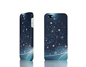 Apple iPhone 4 / 4S Case - The Best 3D Full Wrap iPhone Case - Snowflakes_dancing