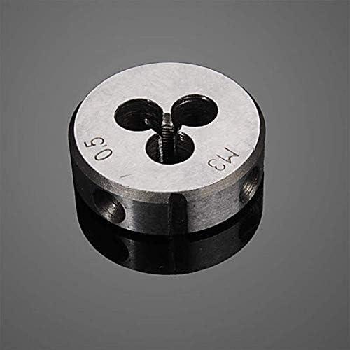 Henseek DIY & Tools Screwdriver Set 20pcs M3-M12 Screw Thread Metric Plugs Taps Tap wrench Die Wrench Set Hardware Tool Kits Tool Kit Screwdriver Sets