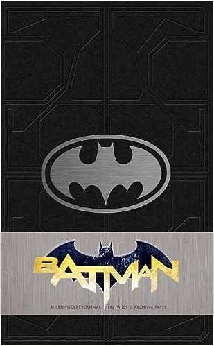 batman ruled pocket journal insights journals