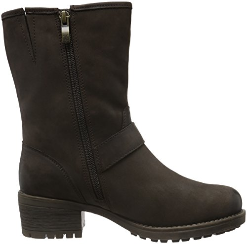 Women's Nubuc Boots Brown 26467 Dk Ankle 339 Brown Caprice TxFSqwHS