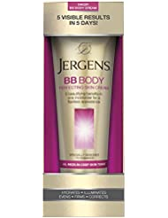 Jergens BB Body Perfecting Skin Cream, All Medium-Deep Skin Tones, 7.5 Ounces